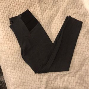 Formal grey expand waist leggings